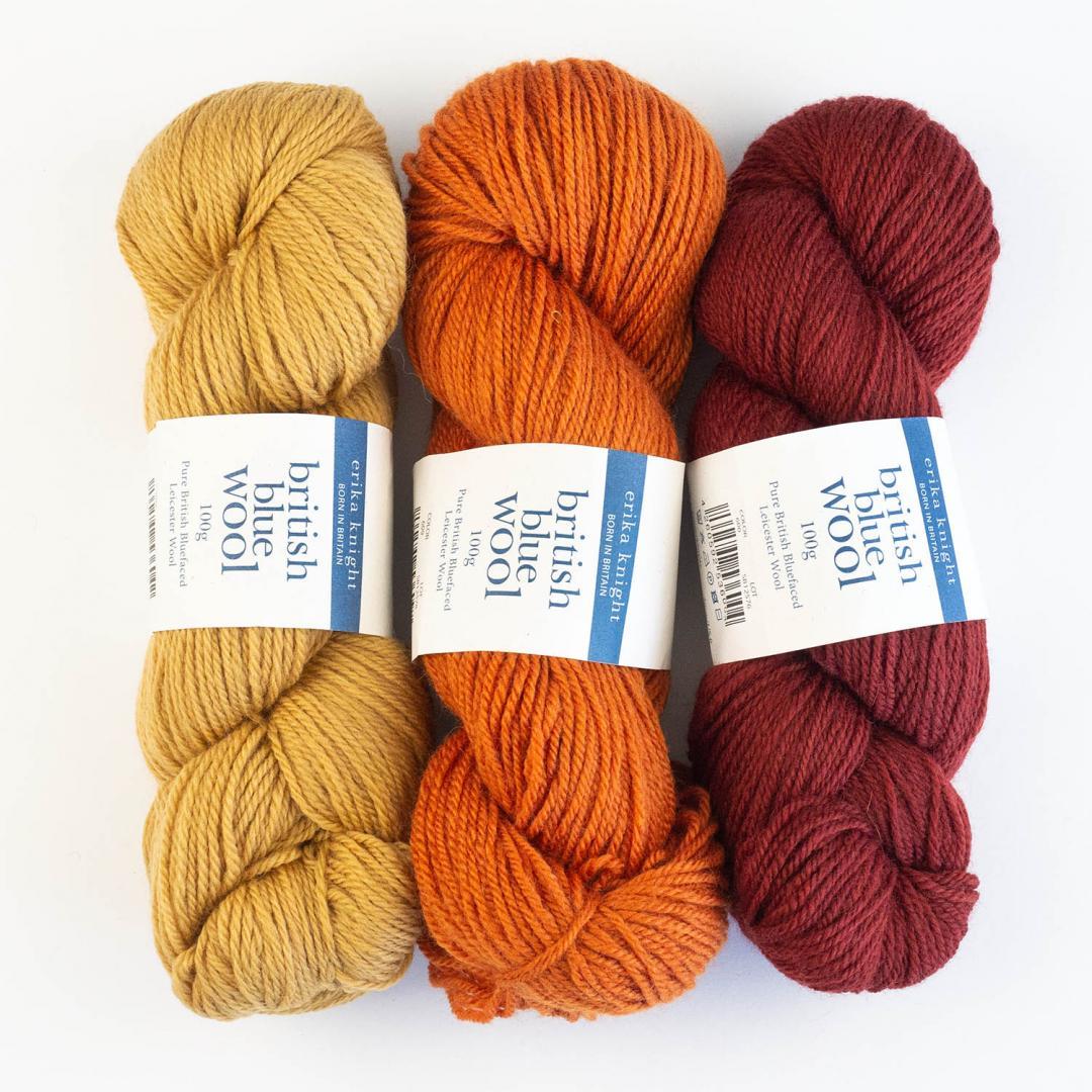 British Blue Wool 100 (100g)