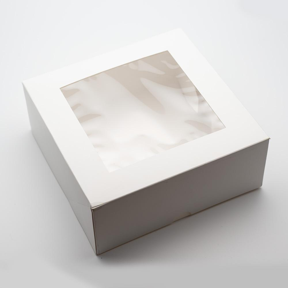 Schachtel mit Sichtfenster