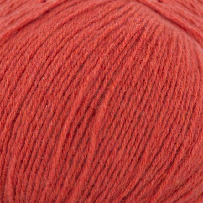 Kremke Soul Wool Eco Cashmere Fingering Ziegelrot