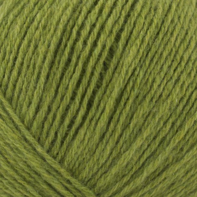 Kremke Soul Wool Eco Cashmere Fingering Grasgrün