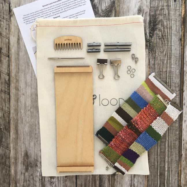 Purl & Loop Bracelet Loom Starter Kit 12-fädige Kette
