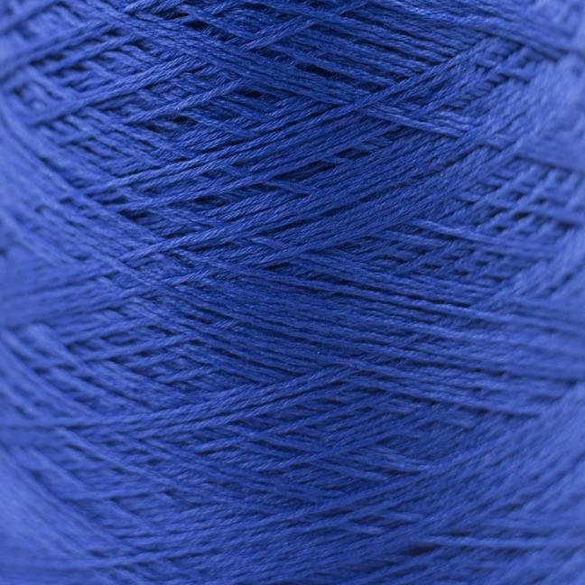 BC Garn Luxor mercerized Cotton 8/2 200g Kone royalblau
