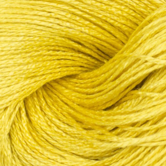 BC Garn Jaipur Silk Fino auf 50g-Kone 12/2  Sonnengelb
