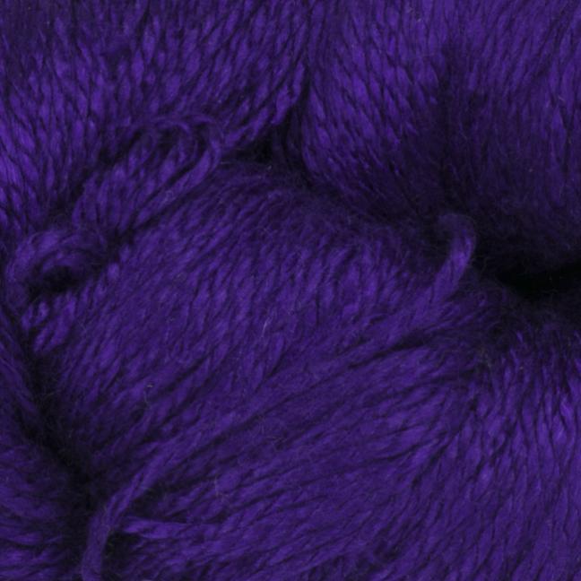 BC Garn Jaipur Silk Fino auf 50g-Kone 12/2 Violett