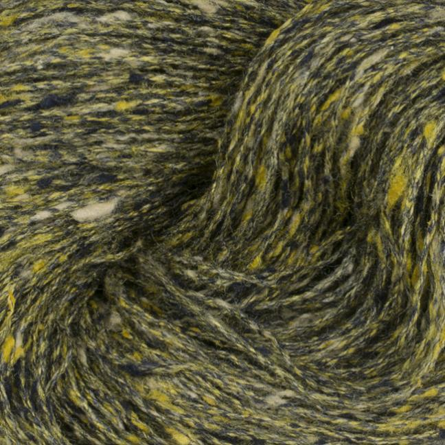 BC Garn Tussah Tweed auf 800g-Konen yellow-gold-mix