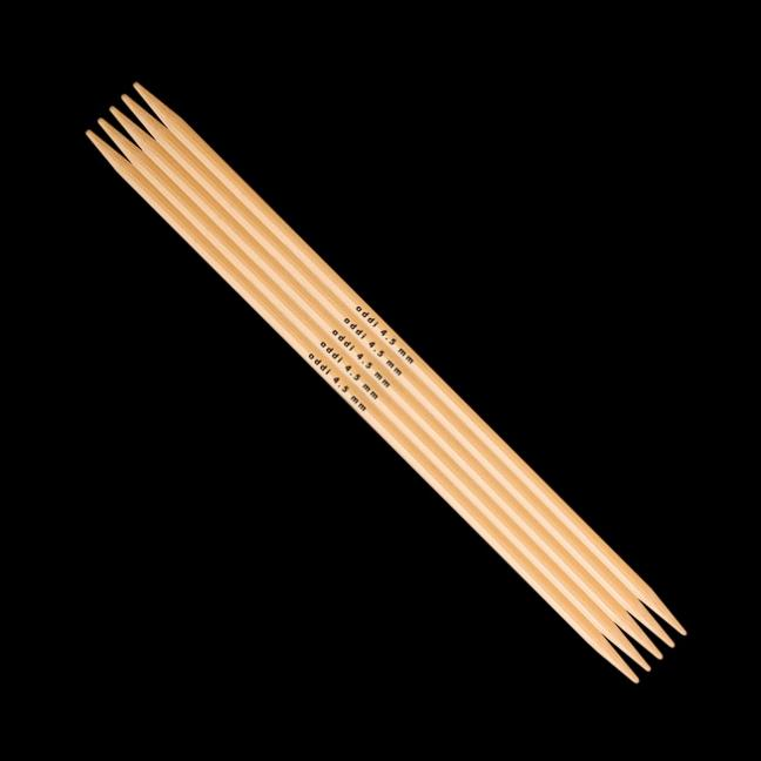 Addi Addi Bambus Strumpfstricknadeln 501-7 6mm_20cm