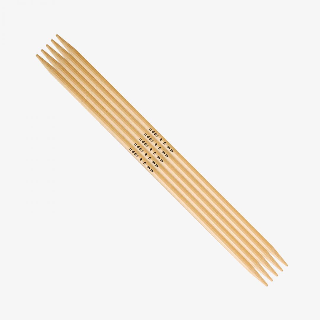 Addi Addi Bambus Strumpfstricknadeln 501-7 9mm_20cm