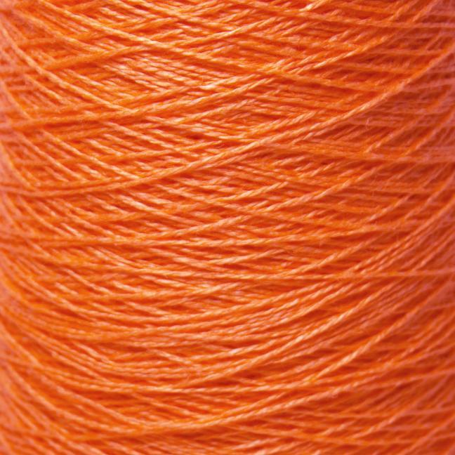 BC Garn Linen 16/2Ne auf 200g Kone Orange