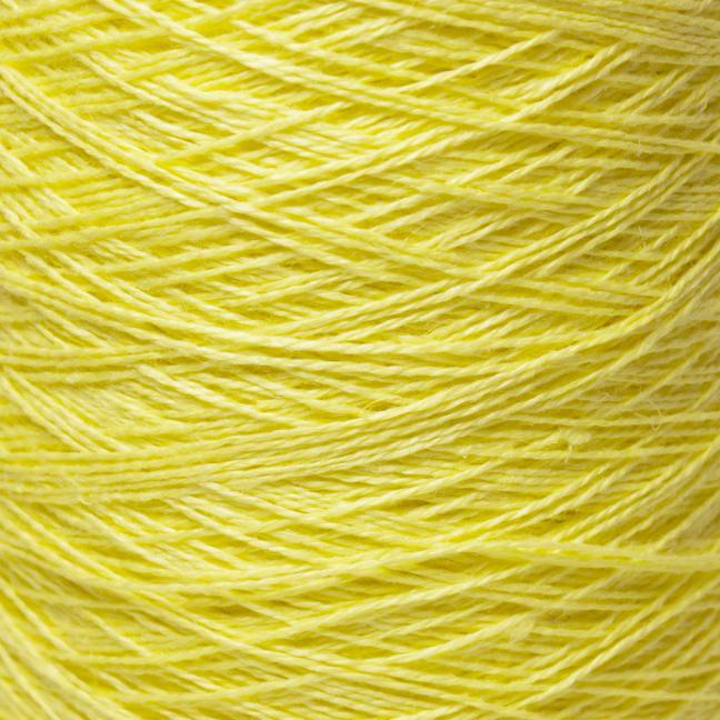BC Garn Linen 16/2Ne auf 200g Kone Zitronengelb