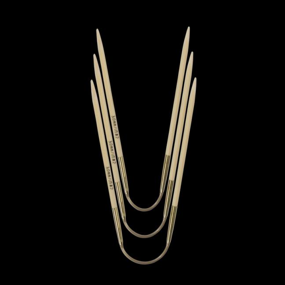 Addi Addi Crazy Trio Bamboo 560-2 Short 2,25mm