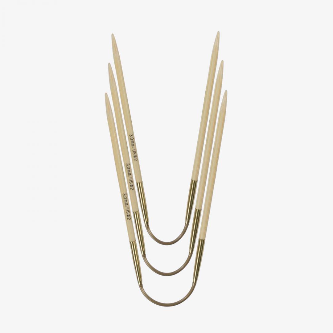 Addi Addi Crazy Trio Bamboo 560-2 Short 2,5mm