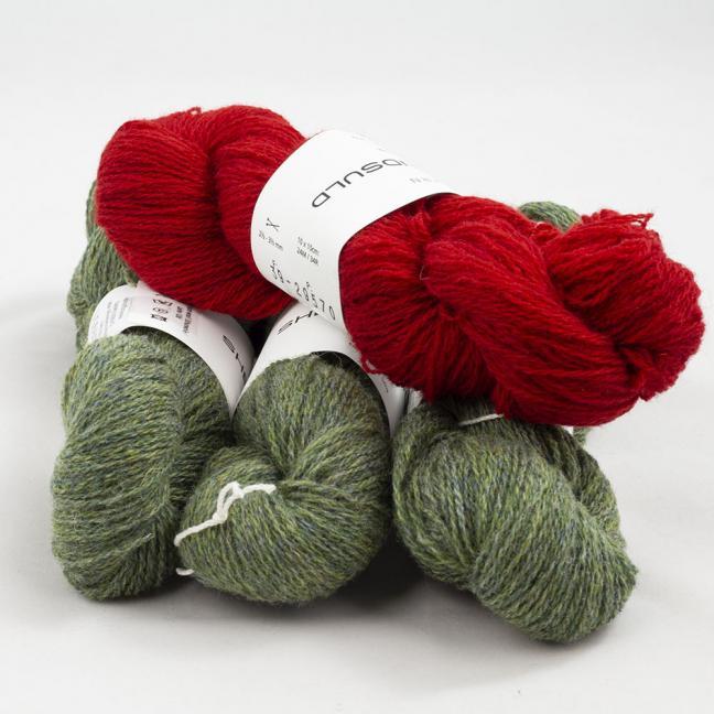 BC Garn Shetland Wool Restepaket 200g Kirschbaum