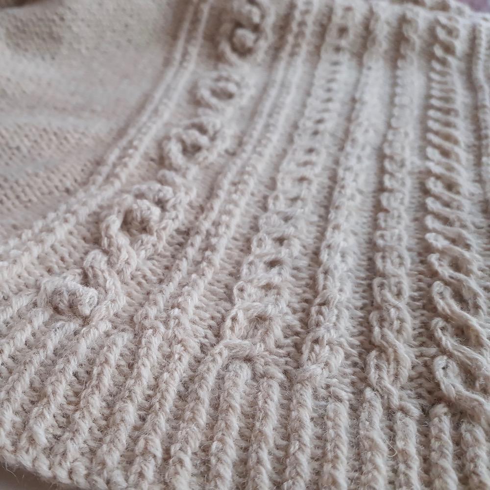 BC Garn AH Kit Hockney Cardigan Size L