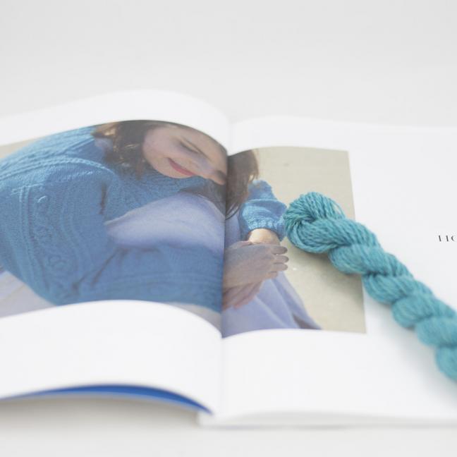 BC Garn AH Kit Hockney Cardigan Size L  Turquoise