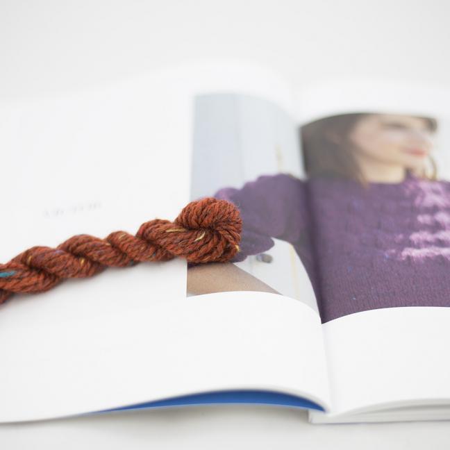 BC Garn AH Kit Victor Sweater Size 1 Orange
