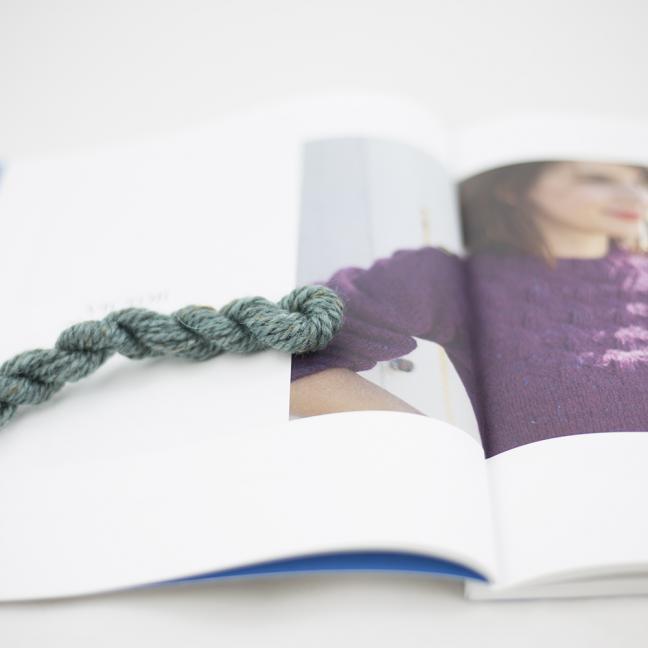 BC Garn AH Kit Victor Sweater Size 1 Aqua