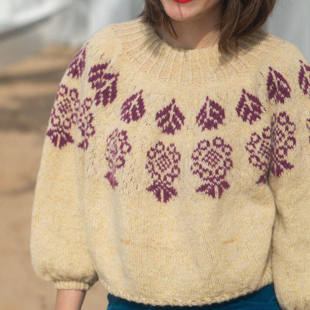 BC Garn AH Kit Boy Scout Sweater Size 1S
