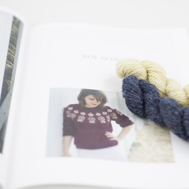 BC Garn AH Kit Boy Scout Sweater Size 1S Denim