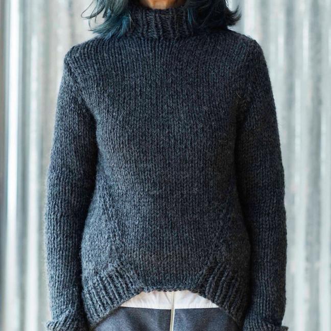 Erika Knight Einzelanleitungen/Patterns Maxi Wool Maxiwool Tuesday Englisch