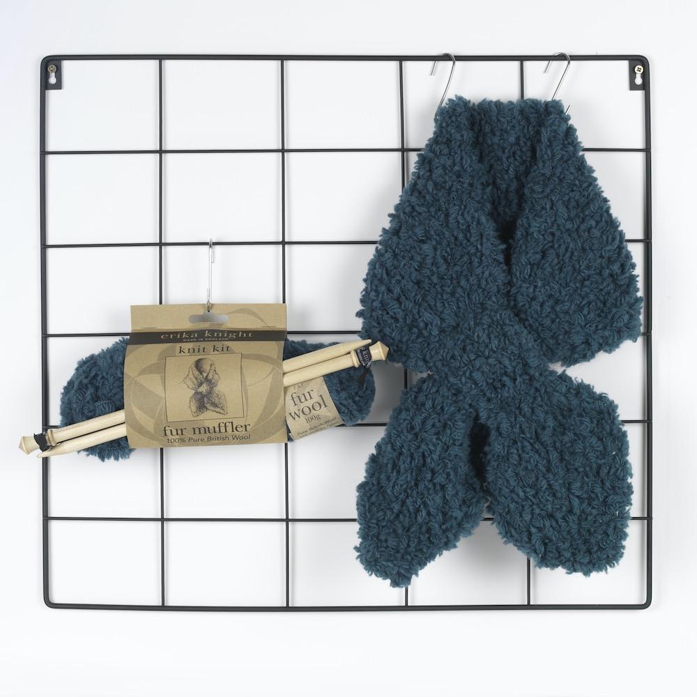 Erika Knight Gedruckte Anleitungen Fur Wool 1 Fur Muffler ENG Fur Wool