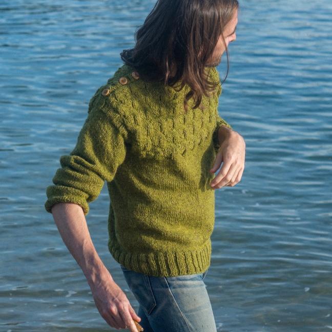 BC Garn AH Kit Victor Sweater Size 4