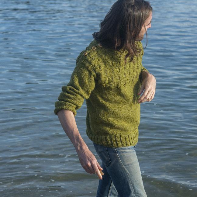 BC Garn AH Kit Victor Sweater Size 5