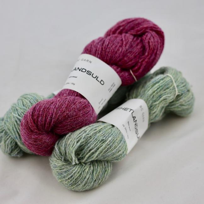 BC Garn Shetland Wool Garnpakete 150g