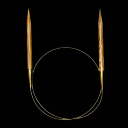 Addi Olivenholzrundstricknadeln 575-7 6mm_80cm