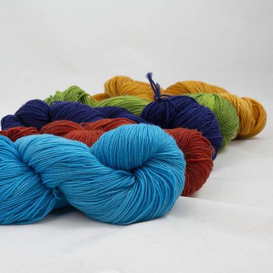 Lazy Lion Sock Yarn semi solid Mix