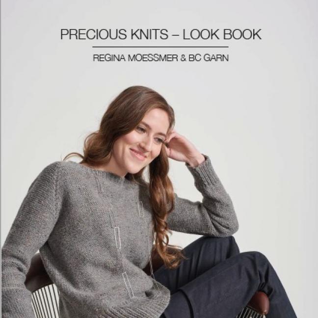 BC Garn Look Book Precious Knits by Regina Moessmer  English