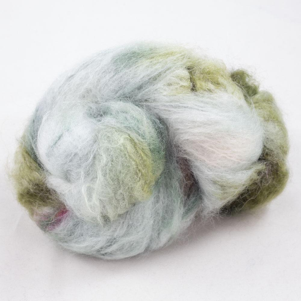 Cowgirl Blues Fluffy Mohair Farbverlauf (100g) Signs of Spring