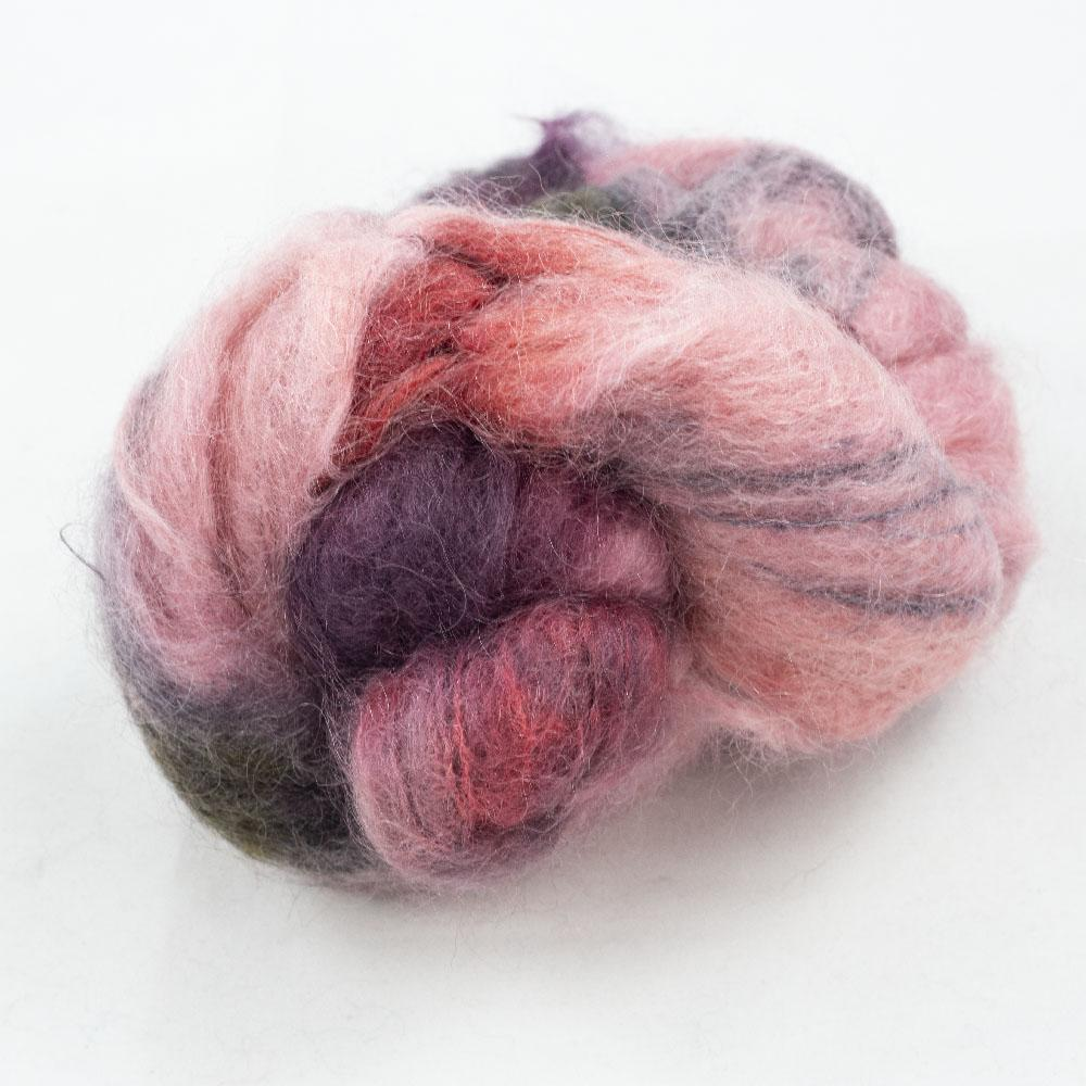 Cowgirl Blues Fluffy Mohair Farbverlauf (100g) Protea Pinks