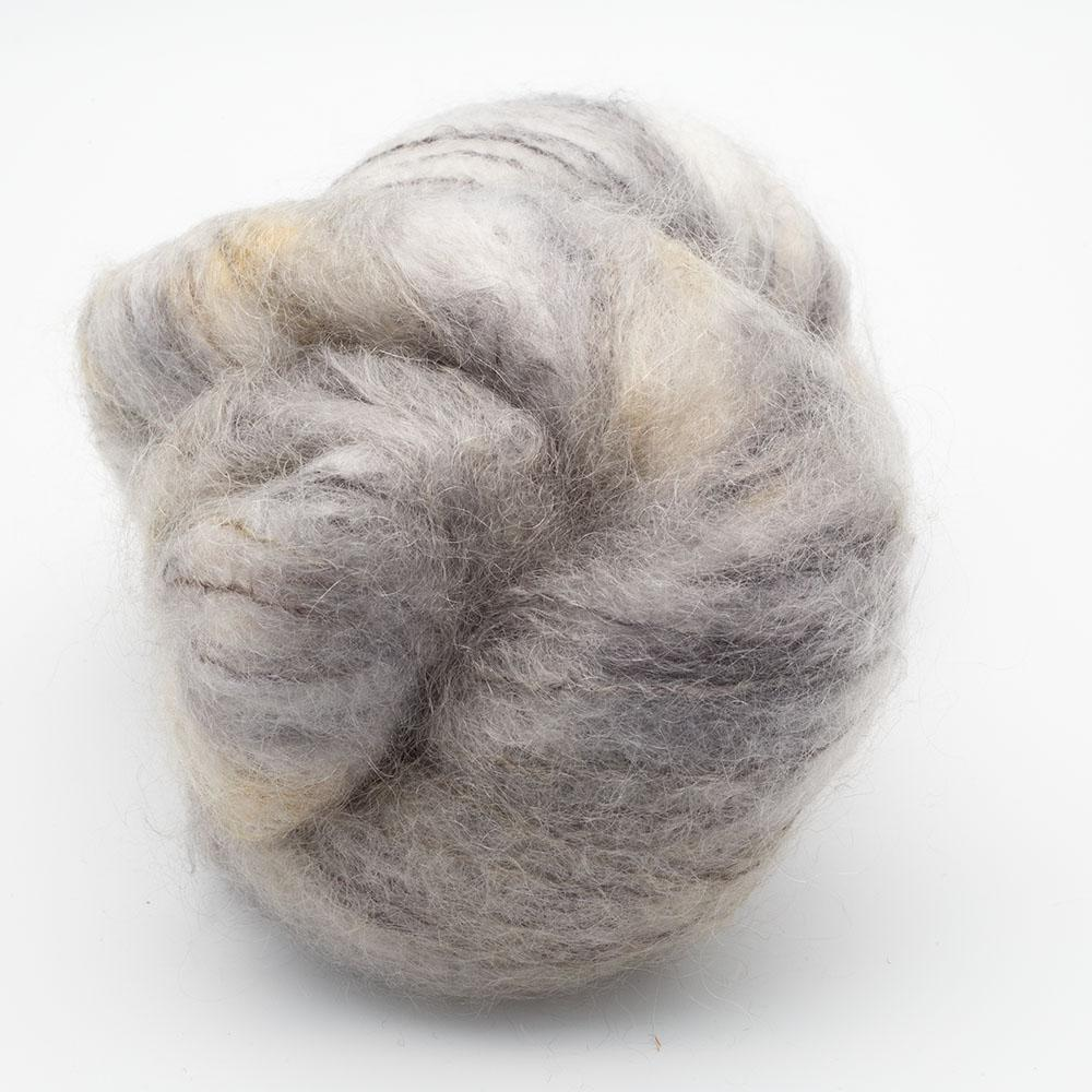 Cowgirl Blues Fluffy Mohair Farbverlauf (100g) Under Pressure