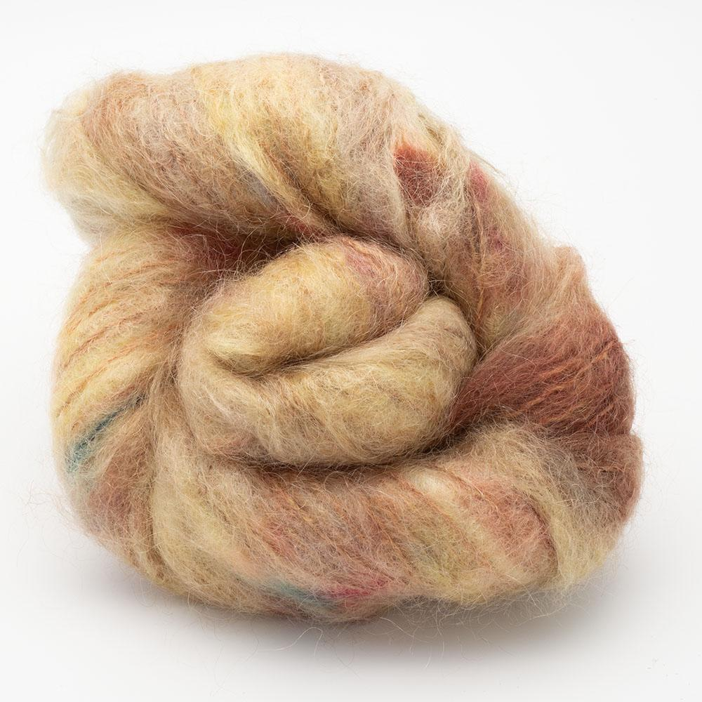 Cowgirl Blues Fluffy Mohair Farbverlauf (100g) True Colours