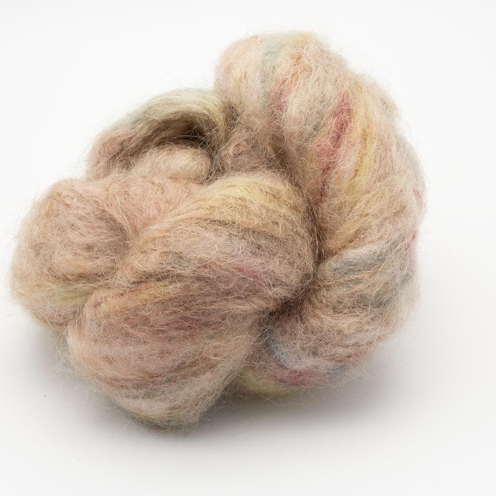 Cowgirl Blues Fluffy Mohair Farbverlauf (100g) Sweet Dreams