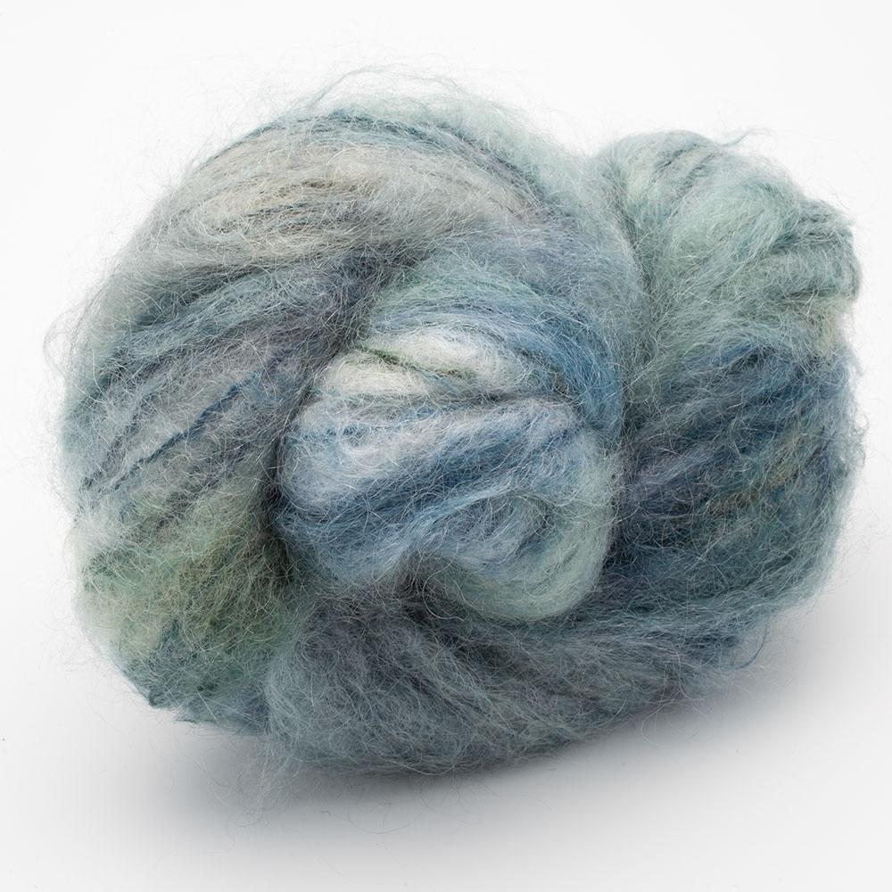 Cowgirl Blues Fluffy Mohair Farbverlauf (100g) 9 to 5