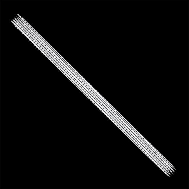 Addi 150-7 ADDI Stahl-Strumpfstricknadeln  20cm / 1,25mm