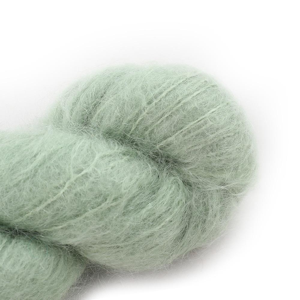 Cowgirl Blues Fluffy Mohair solids (100g) 14-Sage