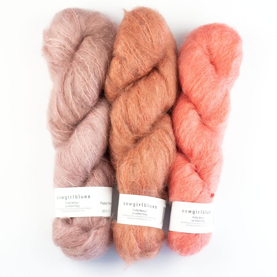 Fluffy Mohair solids