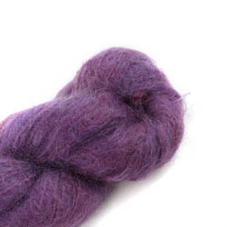 Cowgirl Blues Fluffy Mohair solids 35-Aubergine