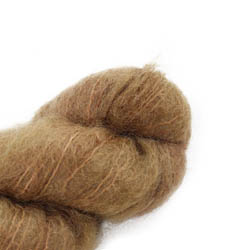 Cowgirl Blues Fluffy Mohair solids 39-Camel
