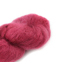 Cowgirl Blues Fluffy Mohair solids 24-Dusty Rose