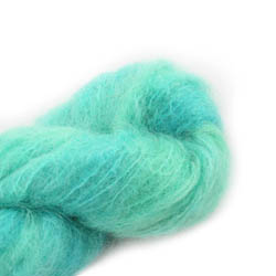 Cowgirl Blues Fluffy Mohair solids 15-Emerald