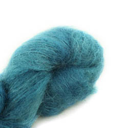 Cowgirl Blues Fluffy Mohair solids 17-Guinea Fowl