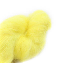 Cowgirl Blues Fluffy Mohair solids 43-Lemon