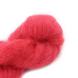 Cowgirl Blues Fluffy Mohair solids 23-Lipstick