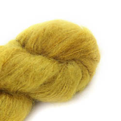 Cowgirl Blues Fluffy Mohair solids 09-Mustard