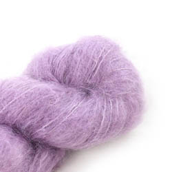 Cowgirl Blues Fluffy Mohair solids 33-Orchid Blush