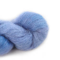 Cowgirl Blues Fluffy Mohair solids 16-Seagrass