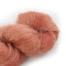 Cowgirl Blues Fluffy Mohair solids 31-Terracotta